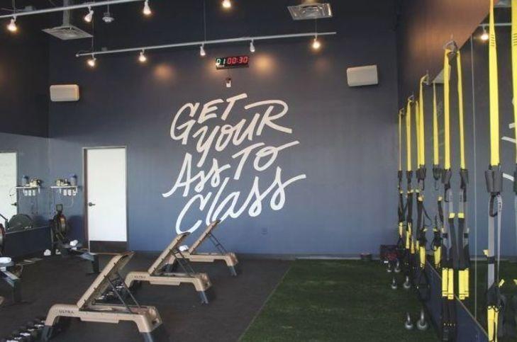 Workout Studio Review Class Studios Aneverydayfit Home Gym Design Gym Design Interior Fitness Studio