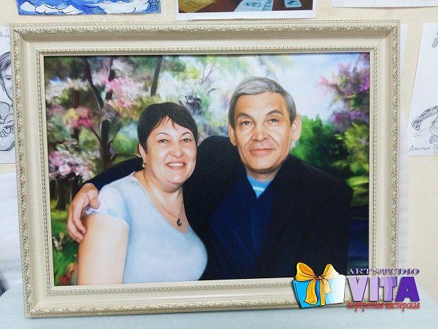 """""""Цифровой портрет""""   Порадуйте своих родителей на юбилей их свадьбы. Никогда не забывайте о своих родителей.❤️ Наш сайт http://gallerr.ru Заказать http://gallerr.ru/fzakaza2 По вопросам пишите в личку"""
