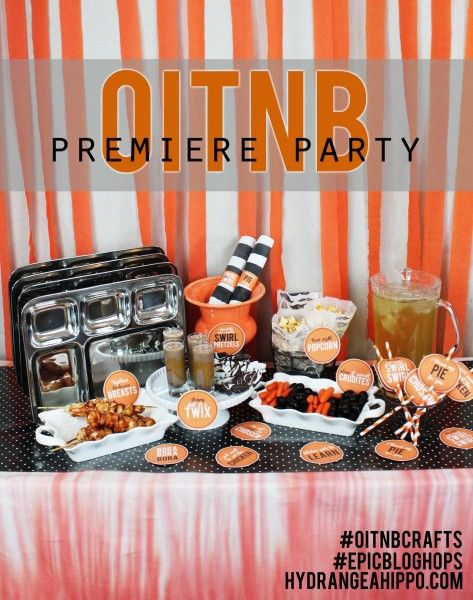 Are you throwing a premiere party for Orange Is the New Black? Welcome Piper, Alex, and the whole crew back into your home with these delicious snacks and fun themed decor!