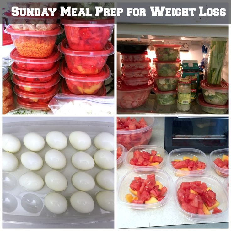 Sunday Prep lunches for work Hard boiled eggs are a good idea and easy