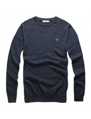 Burberry jersey punto gris oscuro