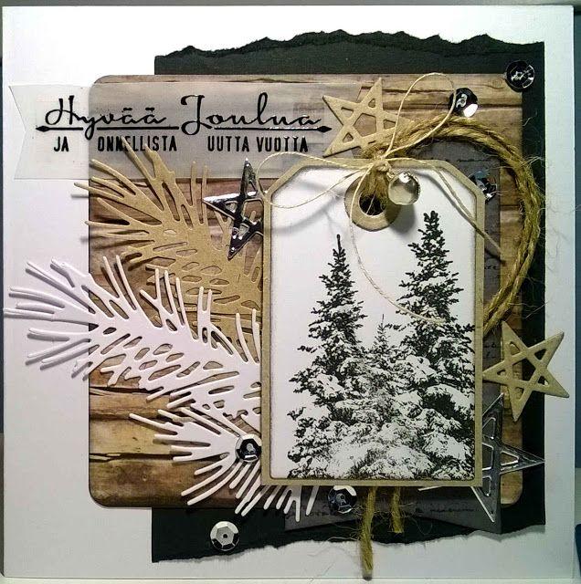 Käsintehtyä - Handmade: Joulukortit