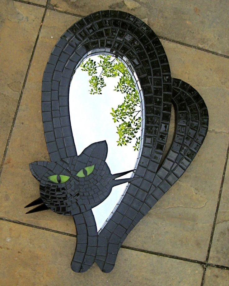 Kitty Mirror - Espelho Gato Negro | Monica Sanchez