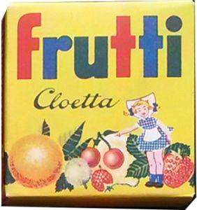 My favorite sweets as a child - Cloetta Frutti