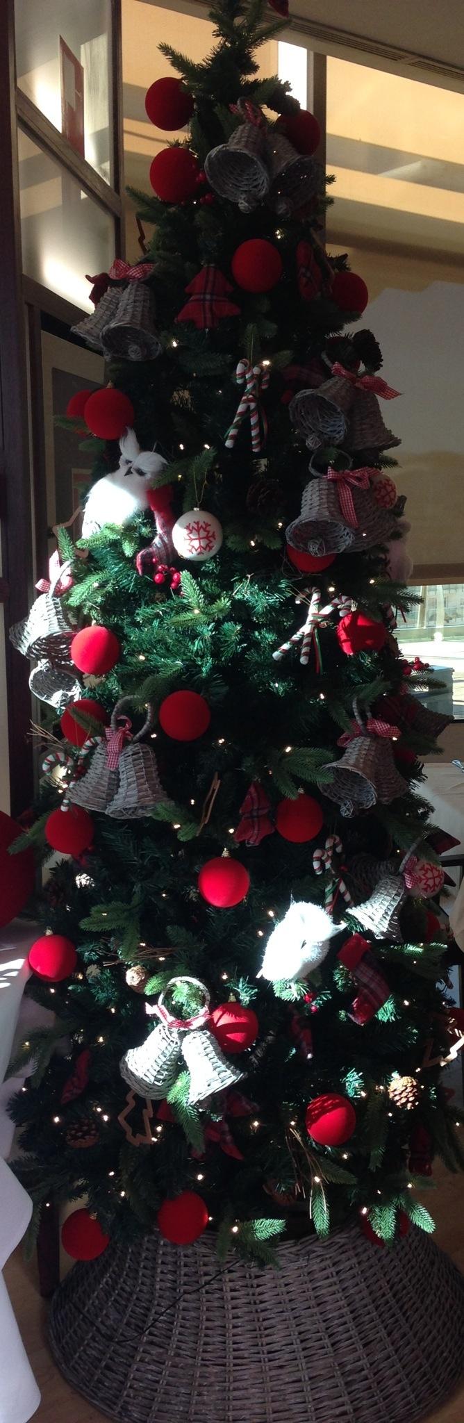 Precioso árbol de Navidad!