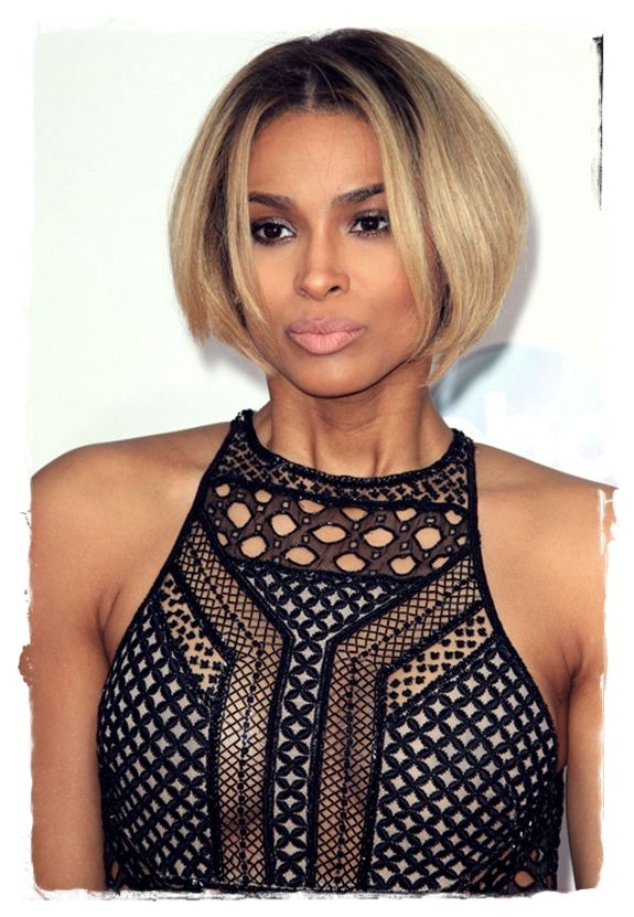 Celebrity Bob #Hairstyles to Inspire You - Ciara