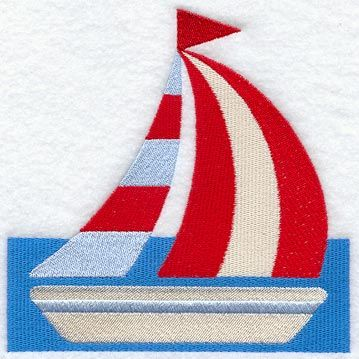 I like this design for a sailboat