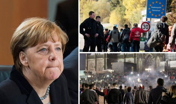 """Merkel's friends. GERMANY was rocked by yet more migrant sex attack allegations today after it emerged one refugee told his victim she was """"just there for sex"""" as he groped her whilst another group STONED two women in the street."""