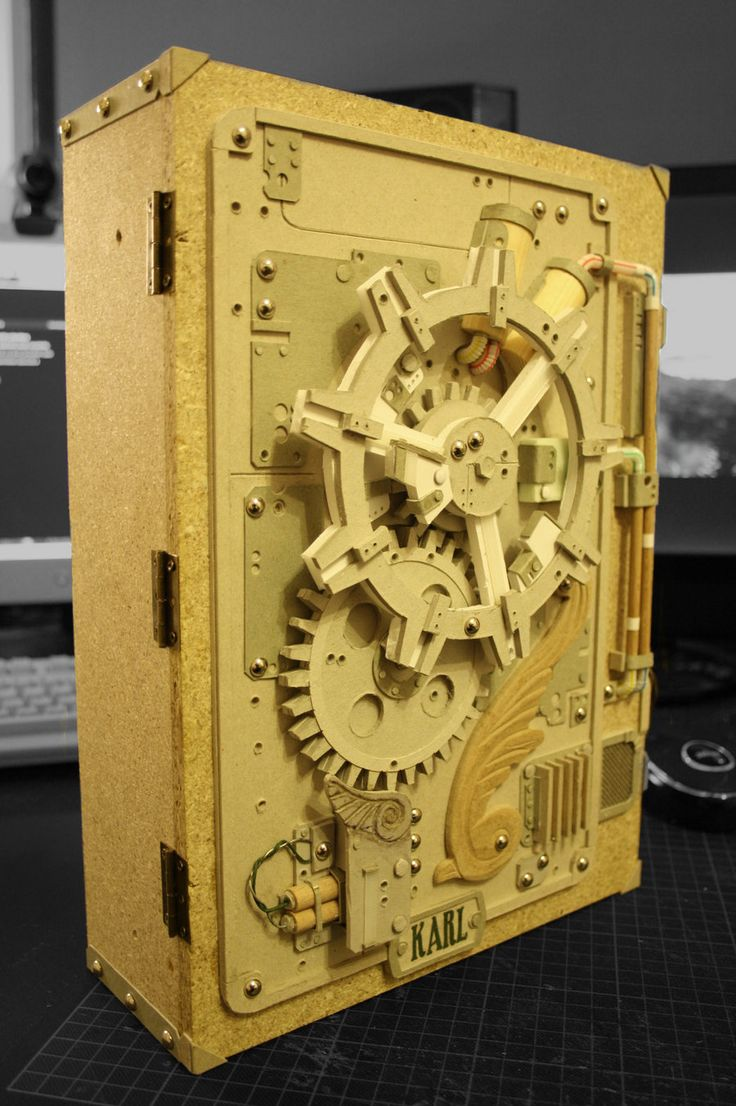 87 Best Dp Design Images On Pinterest Cool Things Creativity And Recycled Circuit Board Music Cd Wall Clock Geekery With Copper A Box To Put Drawings In For My Nephew Its Made Of Cardbord Sticks Straws Bullen Nails Chipboard