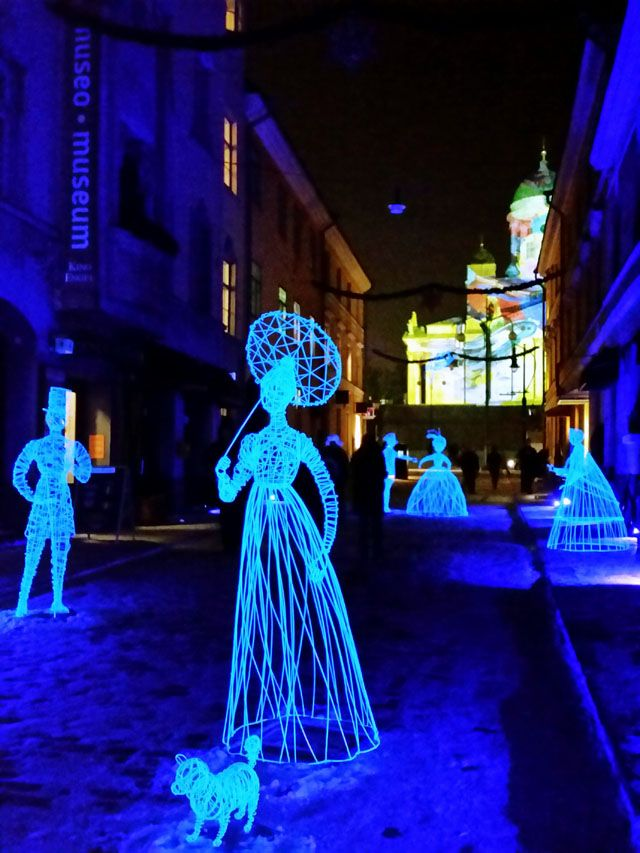 Lux Helsinki Lights Up the Dark Polar Nights 09/01/2016 by Ticket to Adventures