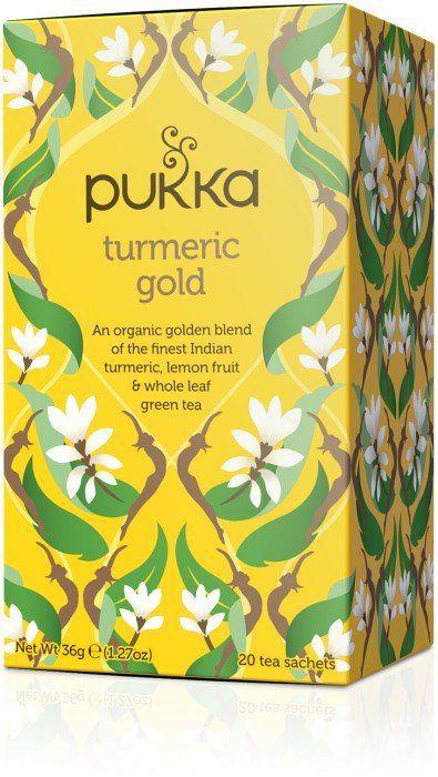 Te med gurkmeja från Pukka