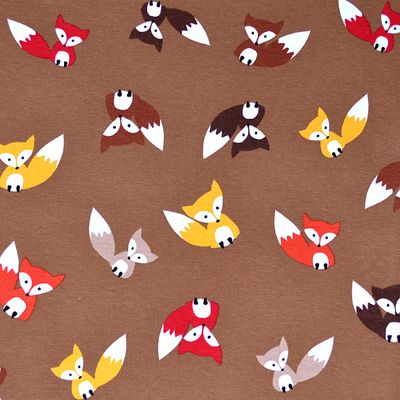 Pinterest the world s catalog of ideas for Fox print fabric