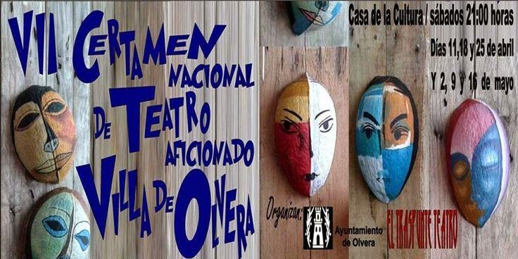 Cartel VII Certamen Nacional de Teatro Aficionado Villa de Olvera