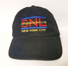 Saturday Night Live SNL New York City Hat Cap Studio 8 H Black 2003 VTG TV Show
