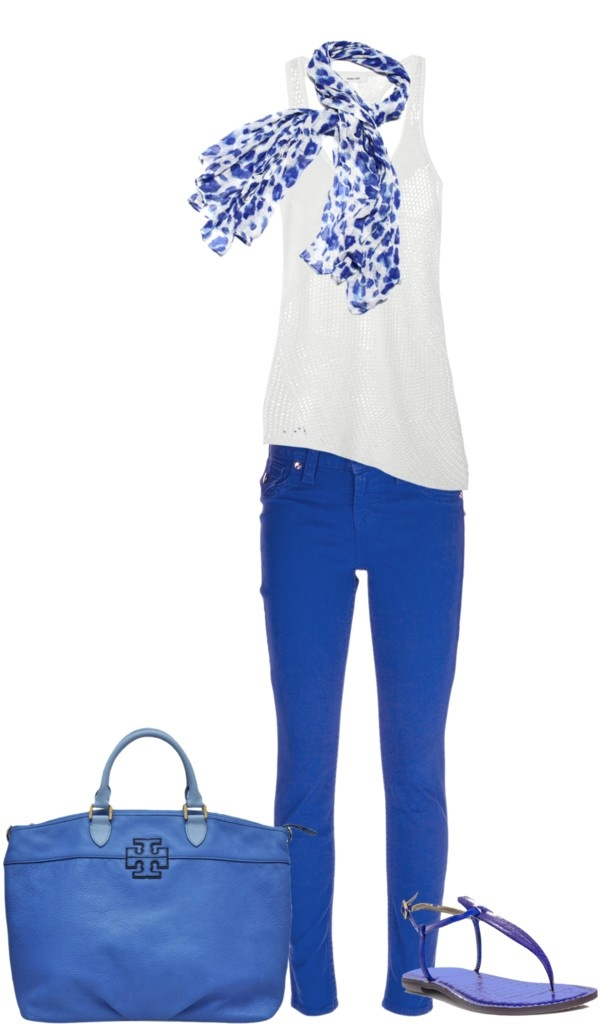 """Cobolt Jeans 2"" by djgauh on Polyvore"