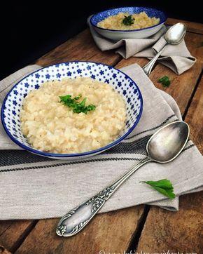 Pourquoi se limiter au céleri rémoulade alors qu'on peut se régaler avec un délicieux risotto de céleri rave vegan et sans lactose