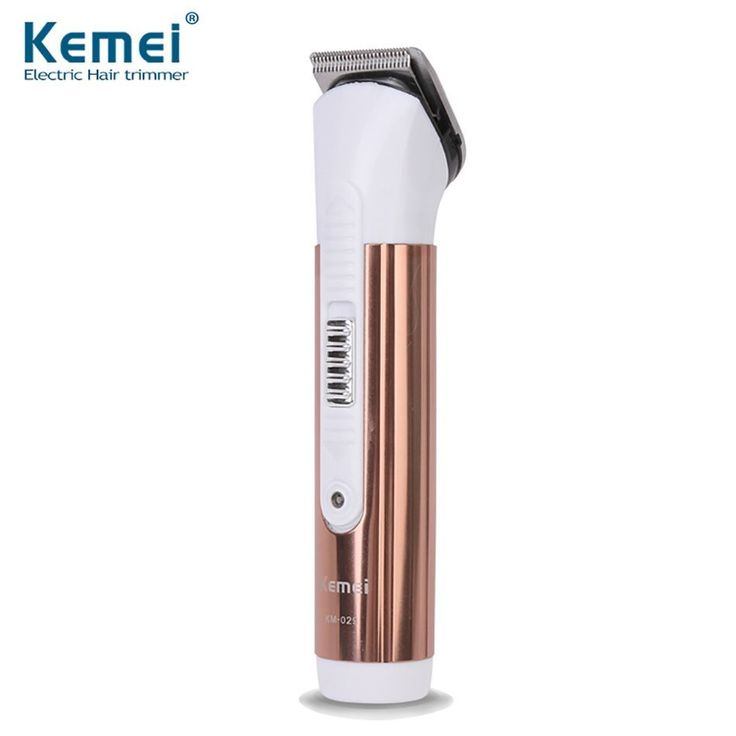 Kemei KM-029 Professional Rechargeable Electric Hair Clipper Hair Trimmer Shaver Razor Cordless Adjustable Clipper Free Shipping #HairCareAppliances