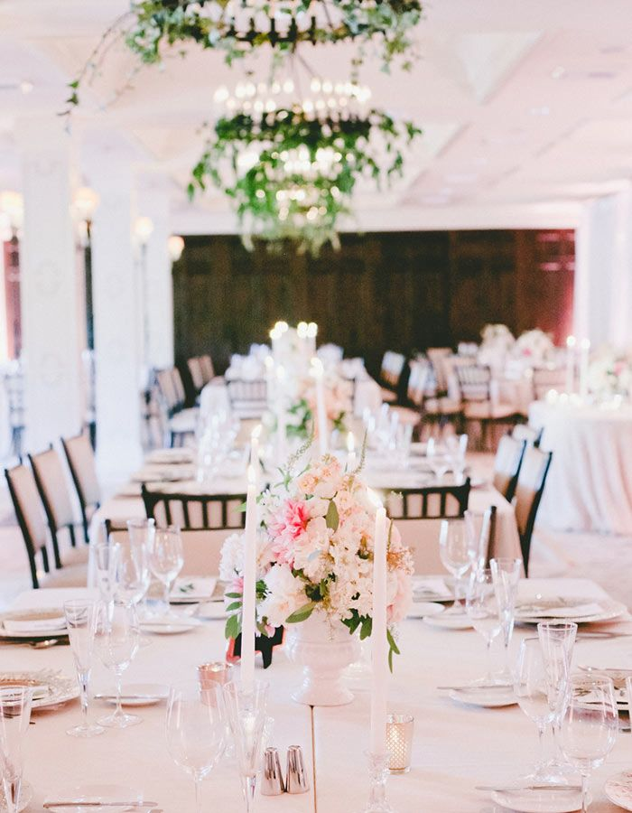 A Front Row Seat To This Modern Romantic California Wedding