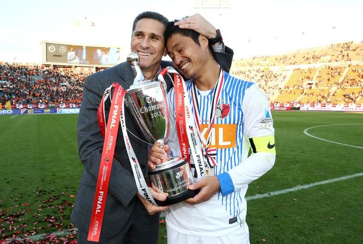 2012 1103 Jorginho @Kashima Antlers  Winner of the Nabisco Cup Championship !!!