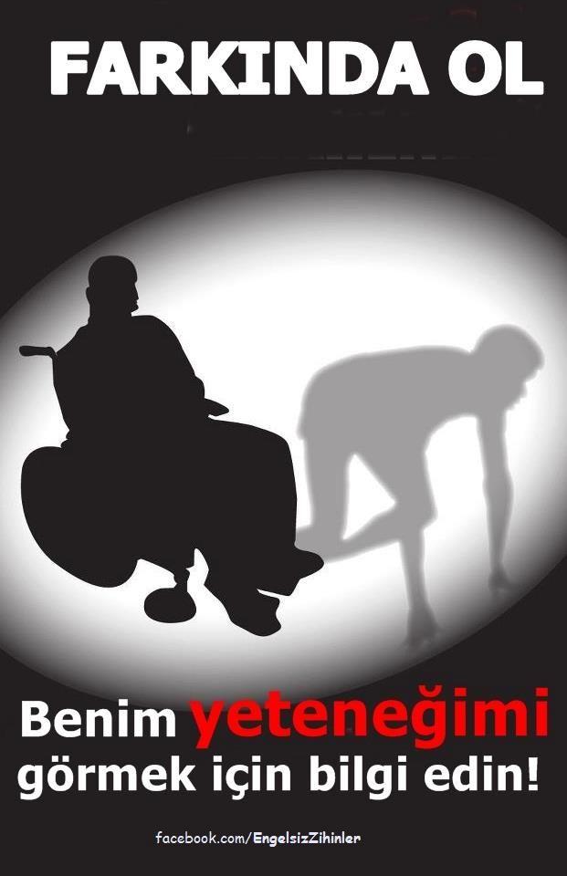 #engel #farkındalık #dünyaengellilergünü #disabled #awareness 3 Aralık Dünya Engelliler Günü