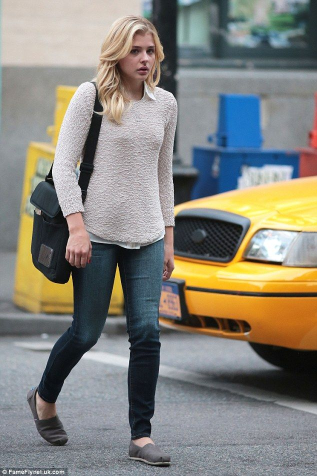 Gone girl? There was no sign of the recent septum piercing which the teenager seemed to display in New York last month