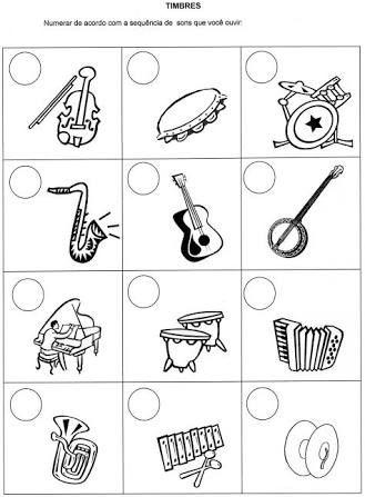 Image result for atividades de musicalização