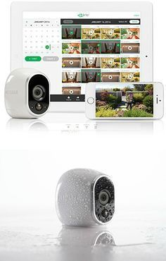Arlo Smart Home Security Cameras are the world's ONLY 100% wire-free, HD, Indoor/Outdoor video cameras for home monitoring with night vision and motion sensor. #homesecuritysystemandmonitoring