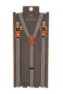Scotch & Soda: Fancy Suspender
