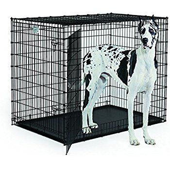 extra large dog breed great dane heavy duty metal dog crate learn more
