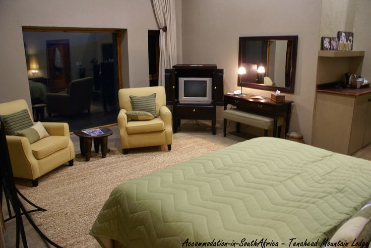 Comfortable and spacious rooms at Tenahead Mountain Lodge and Spa, Rhodes. Accommodation in Rhodes.