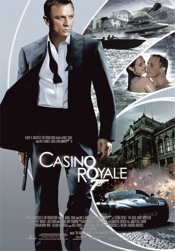 Casino Royale - 2006 - directed by : Martin Campbell - cast : Daniel Craig, Eva Green, Mads Mikkelsen, Judi Dench, Jeffrey Wright, Giancarlo Giannini, Caterina Murino, Simon Abkarian