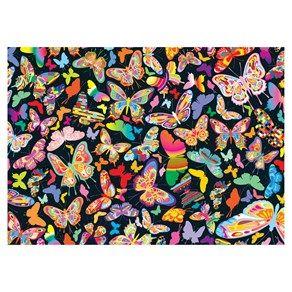 Puzzle 2000 peças Borboletas - lojagrow