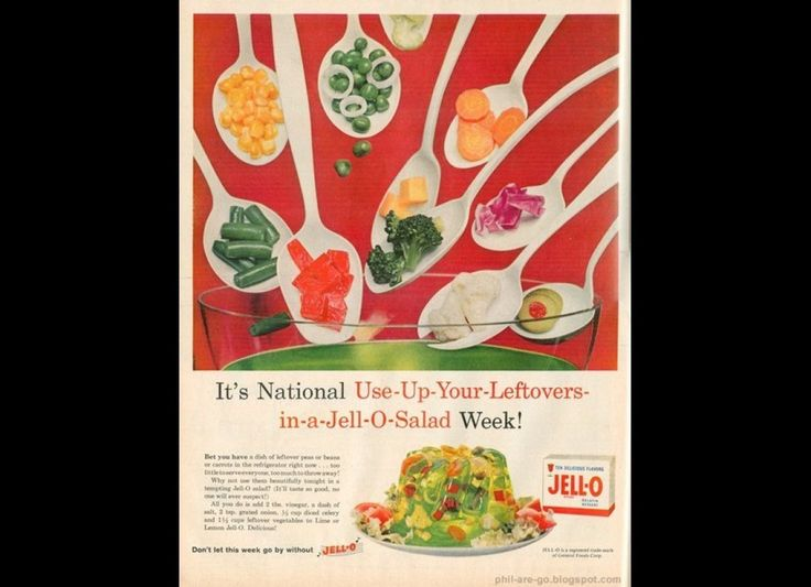 The State Of Jell-O Salad In America