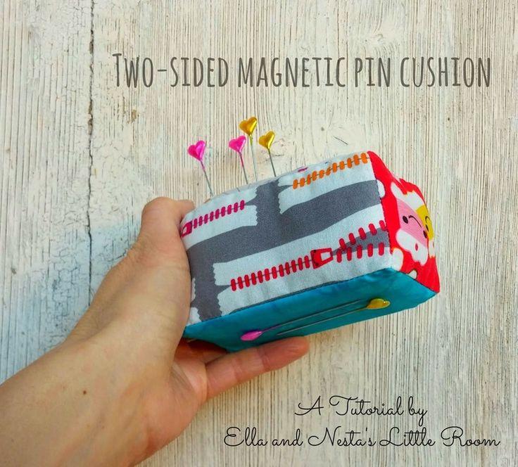Ella u0026 Nestau0027s Boxy Magnetic Pin Cushion