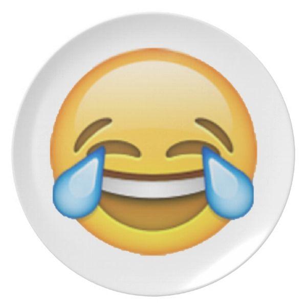 Emoji Tears Of Joy Plate Emoji Your Life Giftsforher Giftsforhim Happyfriday Happiness Emoji Emoji Party Decorations Emoji Party Emoji Party Supplies