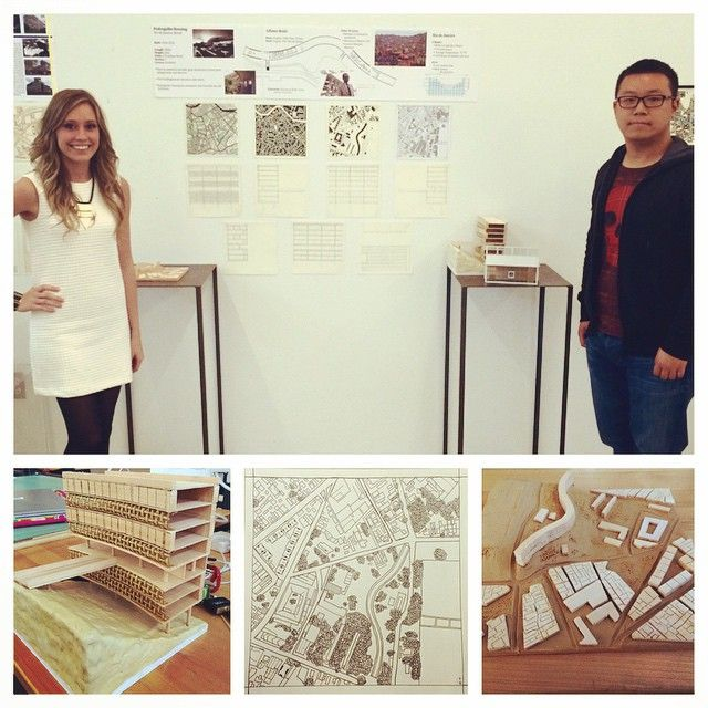 After 11 drawings and 3 models, we finally finished our first architecture project.  Excited to see what's next.