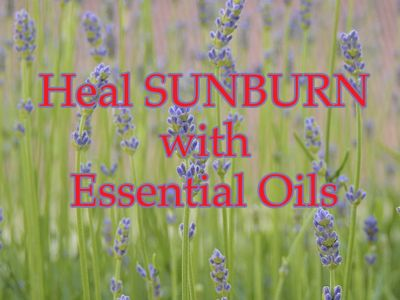 There are various essential oils, formulas, and sprays that are particularly useful for sunburn.