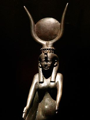 Isis, connected to the dead, healer, mother figure, fertility.