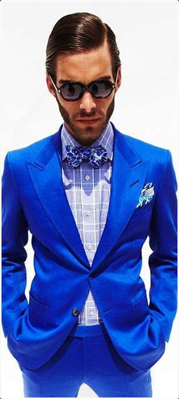 Bright Blue Color Blocking On One Wall And Ceiling: Best 25+ Blue Pinstripe Suit Ideas On Pinterest