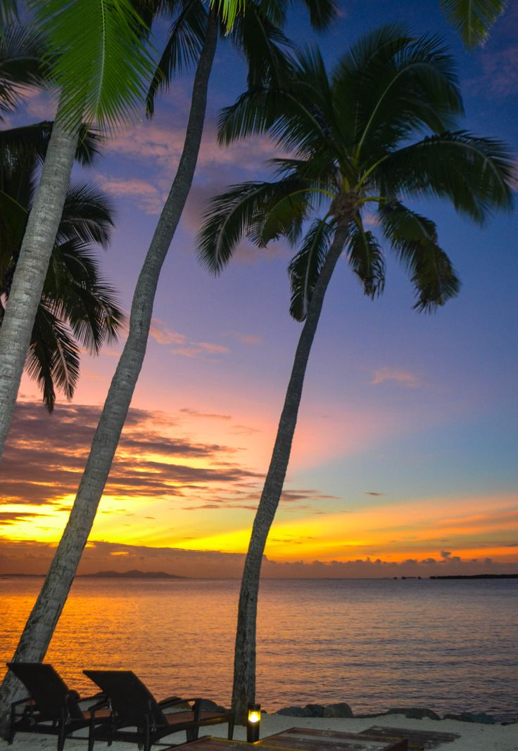 Sunset from the Westin Denarau Island Resort, Fiji