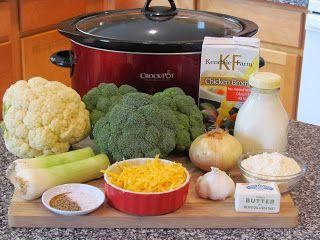 Broccoli – Cheddar Soup