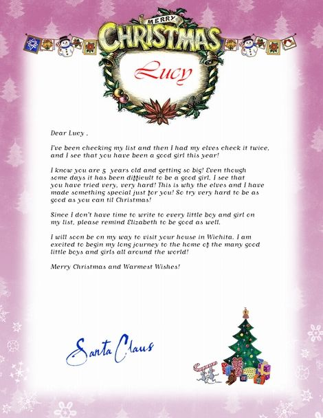 101 best santa letter images on pinterest free printable