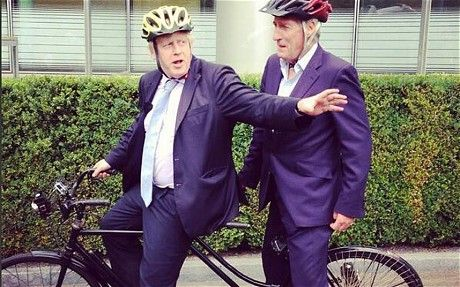 Jeremy Paxman's final Newsnight: pedalling into the sunset with Boris Johnson - Telegraph