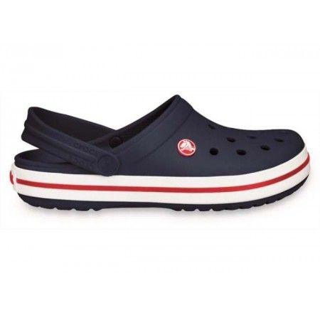 Medizinische Clogs Schuhe von Crocs Crocband Marine