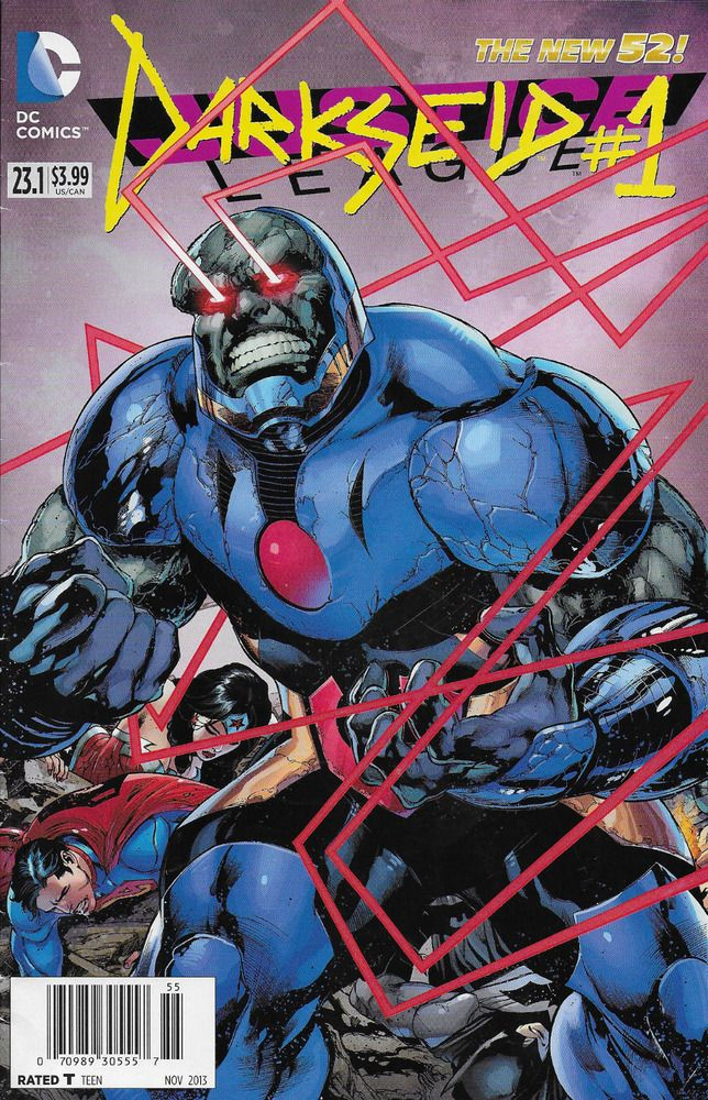 Dc Darkseid Comic Issue 1 The New 52 Darkseid Dc Villains Comic Book Covers