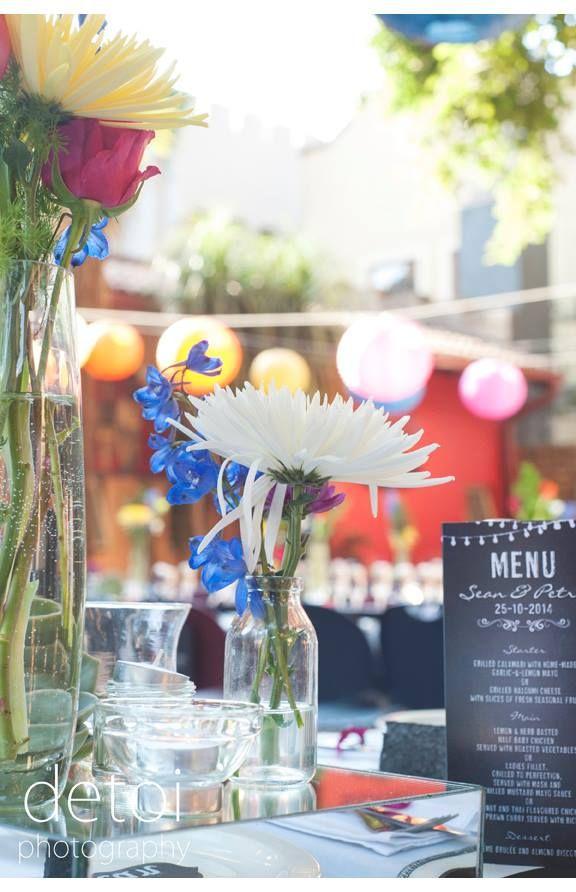Tables and menus