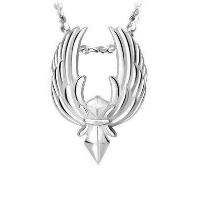 League of Legends LOL Logo 925 Silver Necklace