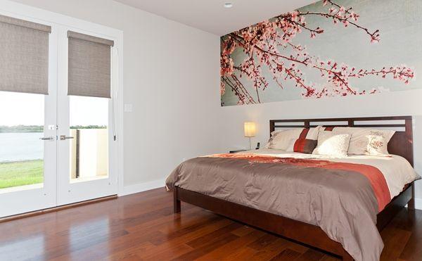 Cherry blossoms murals your way bedroom ideas for Cherry blossom bedroom ideas