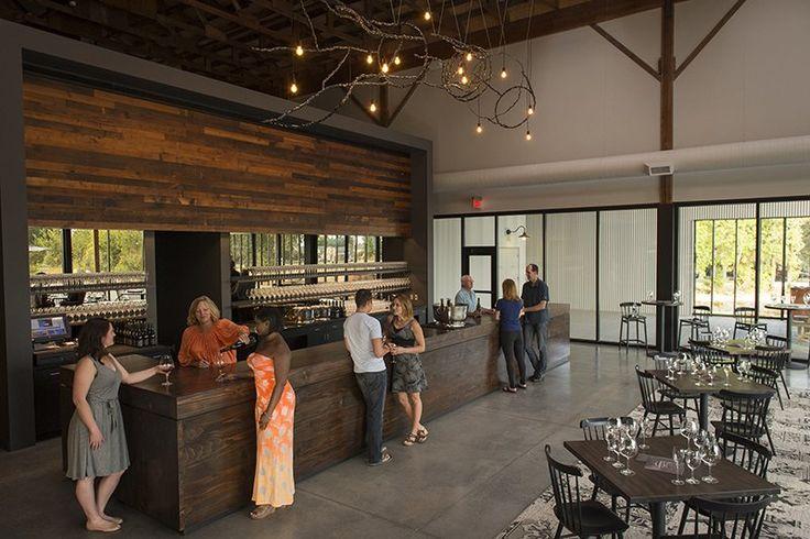Argyle Winery Inc - Dundee, OR, United States. Tasting House bar