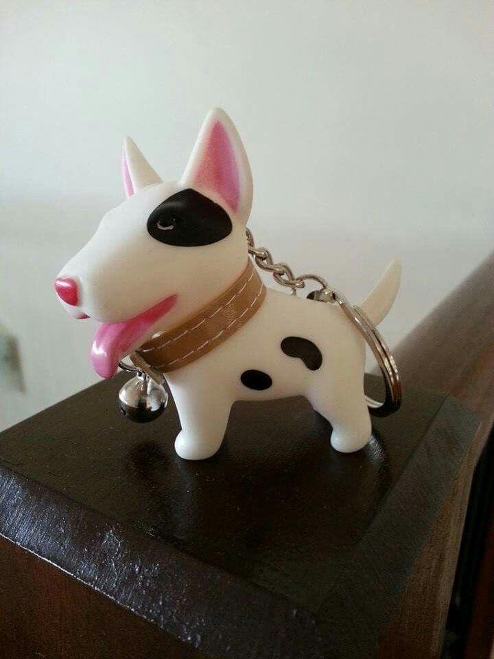 #Bull #Terrier keychain